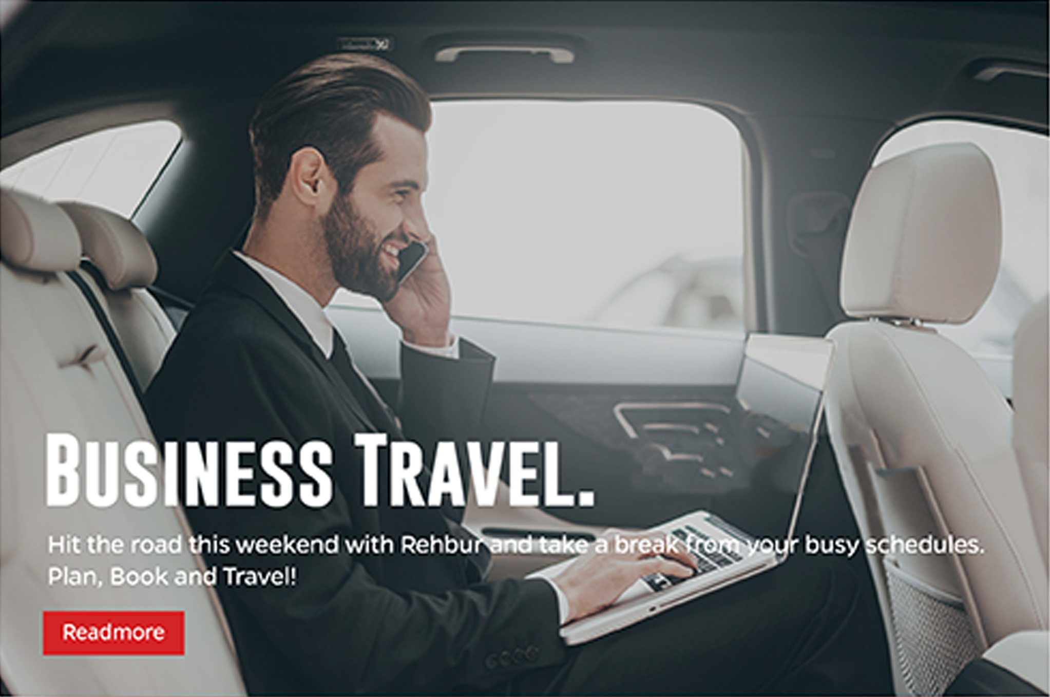 Business travel cars with rehbur